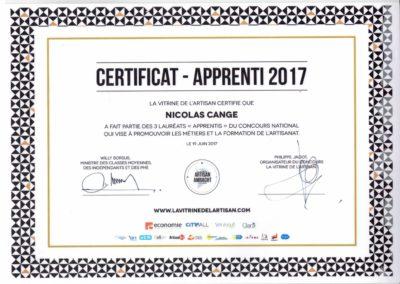 Diplome apprenti